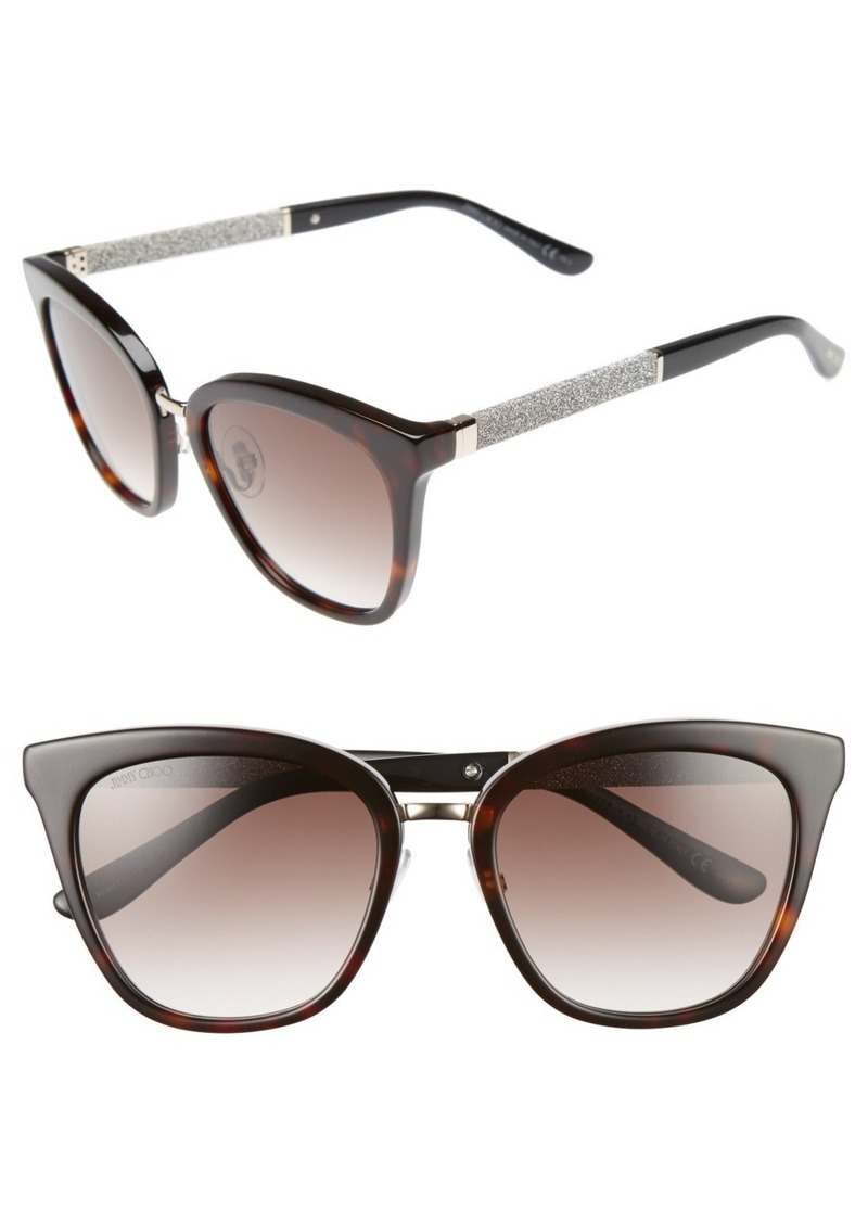 Jimmy Choo Fabry 53mm Sunglasses