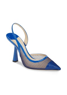 Jimmy Choo Fetto Mesh Pointy Toe Pump (Women)