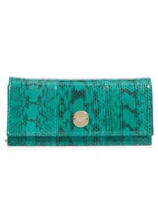 Jimmy Choo Fie Genuine Snakeskin Clutch