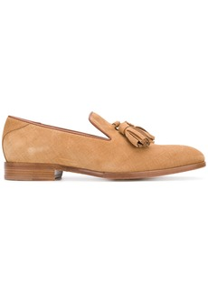 Jimmy Choo Foxley slippers - Brown