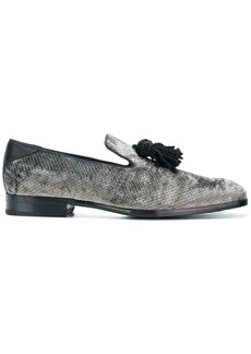 Jimmy Choo Foxley slippers - Grey