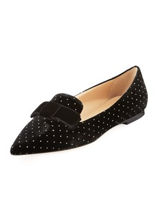 Jimmy Choo Gala Flat Embellished Loafers