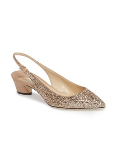 Jimmy Choo Gemma Pointy Toe Slingback Pump (Women)