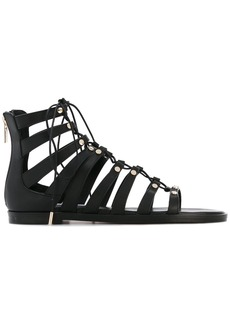 Jimmy Choo 'Gigi' gladiator sandals - Black