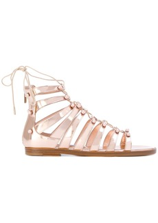 Jimmy Choo Gigi sandals - Metallic
