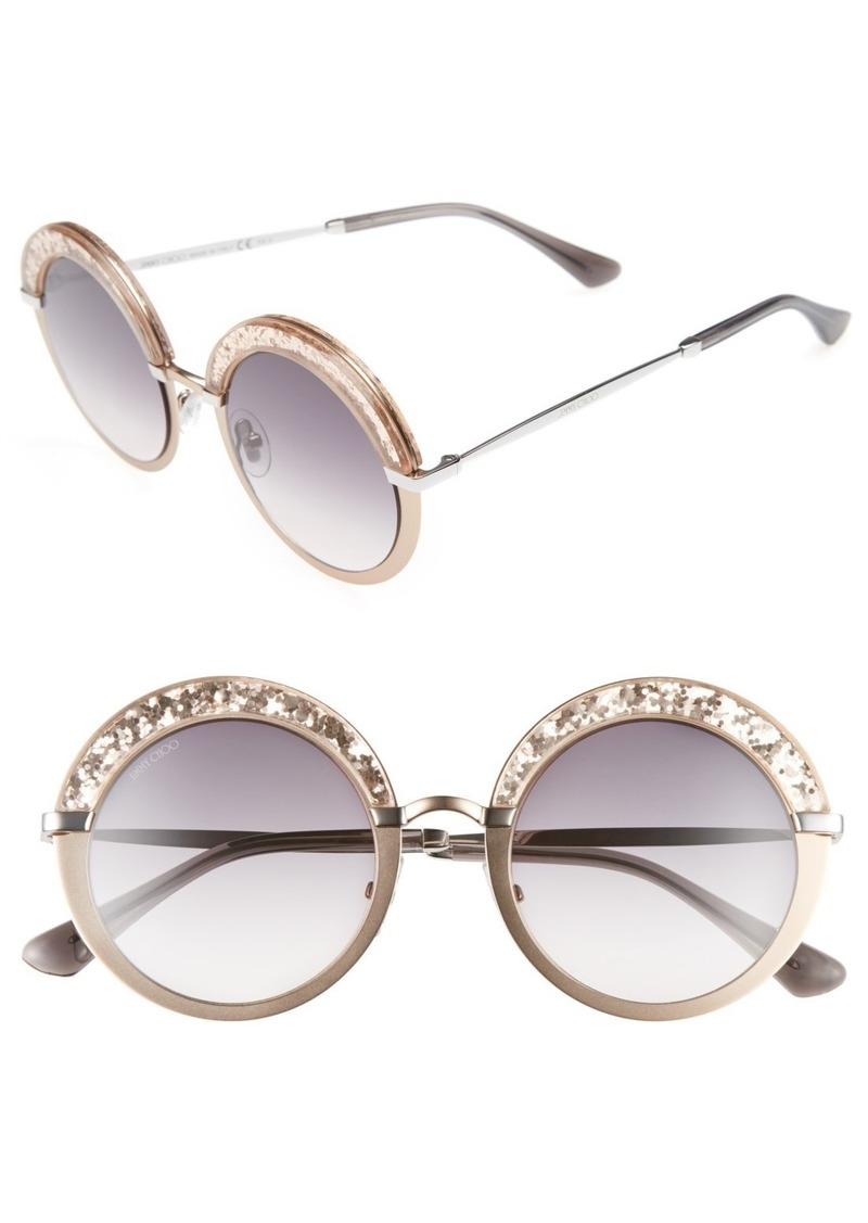 c9650072486 Jimmy Choo Jimmy Choo Gotha S 50mm Round Sunglasses