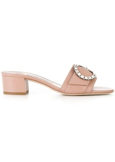 Jimmy Choo Granger 35 mules - Pink & Purple
