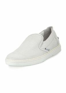 Jimmy Choo Grove Men's Perforated Leather Slip-On Sneaker