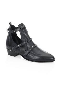 Jimmy Choo Harley 30 TLE Cutout Leather Booties