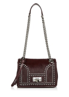 Jimmy Choo Helia Small Studded Convertible Shoulder Bag