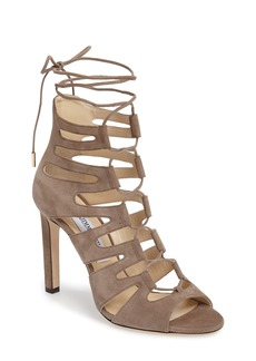 Jimmy Choo 'Hitch' Lace-Up Cage Sandal (Women)