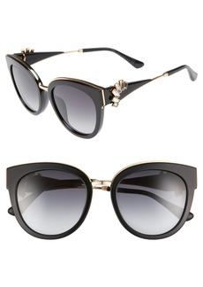 Jimmy Choo Jade's 53mm Gradient Cat Eye Sunglasses