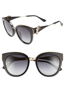 Jimmy Choo Jade's 53mm Gradient Cat Eye Sunglasses