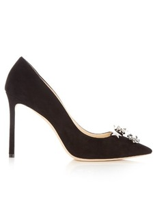 Jimmy Choo Jasmine 100mm suede pumps