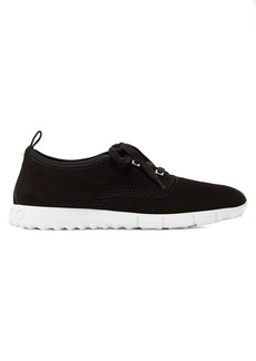 Jimmy Choo Jenson raised-sole low-top suede trainers