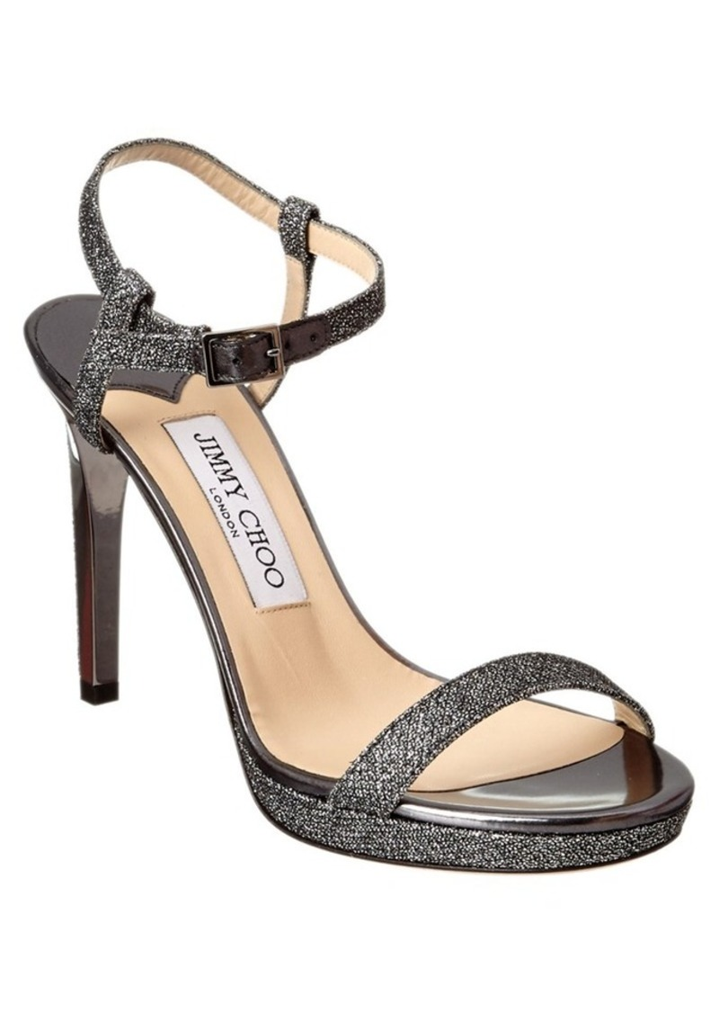 5a771075898 Jimmy Choo Jimmy Choo Jimmy Choo Claudette 100 Lame Gl... Now  599.98