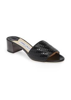 Jimmy Choo Joni Woven Slide Sandal (Women)