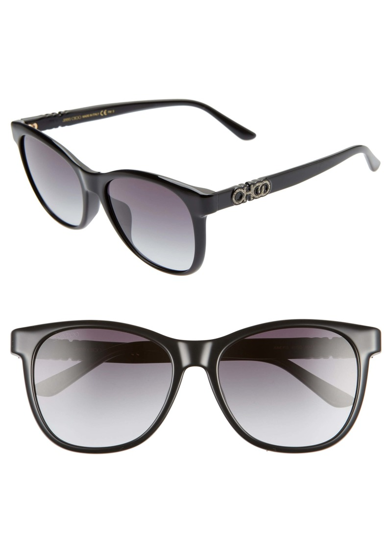 Jimmy Choo June 56mm Special Fit Sunglasses