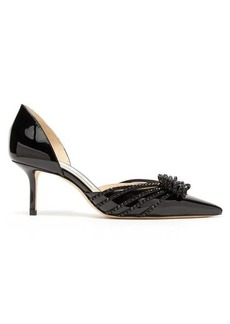 Jimmy Choo Kaitence 65 patent-leather d'Orsay pumps