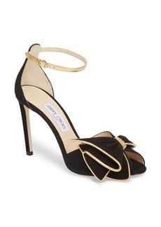 Jimmy Choo Karlotta Bow Ankle Strap Sandal (Women)