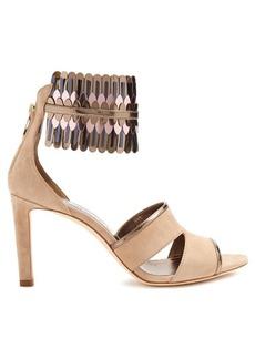 Jimmy Choo Klara 85mm suede sandals