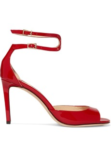 Jimmy Choo Lane 85 patent-leather sandals