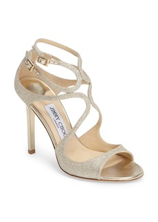 Jimmy Choo Lang Glitter Sandal (Women) (Nordstrom Exclusive)