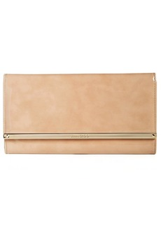Jimmy Choo 'Large Maia' Patent Leather Clutch