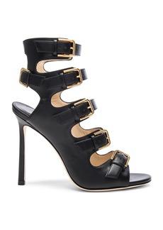 Jimmy Choo Leather Trick Heels