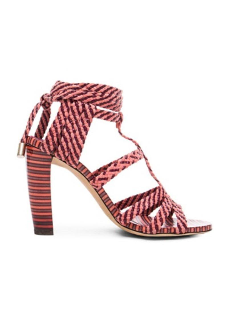 Jimmy Choo Leather Trix Heels