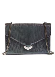 Jimmy Choo Leila Genuine Python Crossbody Bag