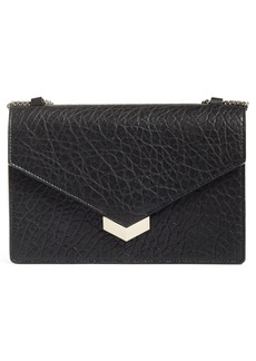 Jimmy Choo Leila Grainy Lambskin Leather Crossbody Bag