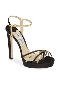 Jimmy Choo Lilah Strappy Platform Sandal (Women)