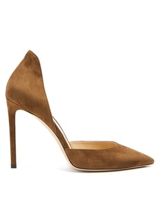 Jimmy Choo Liz 100 suede pumps