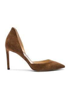 Jimmy Choo Liz 100mm Suede Heel