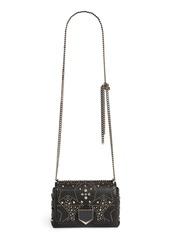 Jimmy Choo Lockett Petite Grained Leather Shoulder Bag