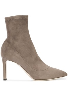 Jimmy Choo Louella sock pumps - Nude & Neutrals