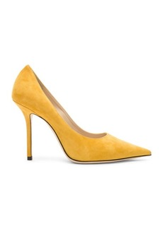 Jimmy Choo Love 100 Suede Heel