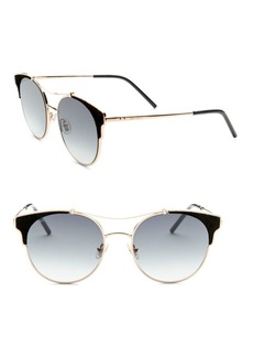 Jimmy Choo Lues Leather Panthos Sunglasses