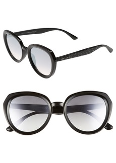 Jimmy Choo Maces 53mm Oversize Sunglasses