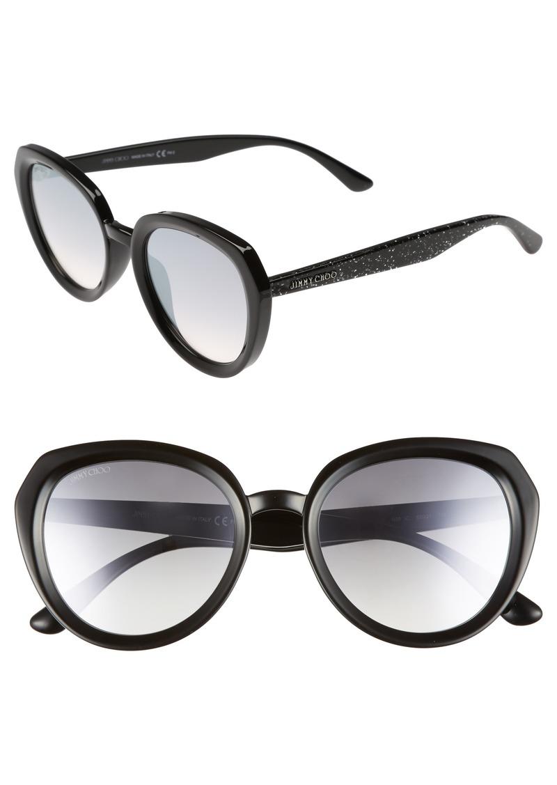 Jimmy Choo Maces 53mm Oversize Sunglasses