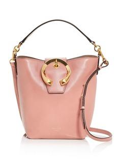 Jimmy Choo Madeline Leather Bucket Bag