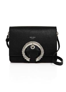 Jimmy Choo Madeline Medium Crystal-Embellished Shoulder Bag