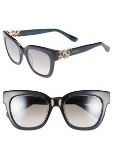 Jimmy Choo 'Maggi' 51mm Crystal Embellished Sunglasses