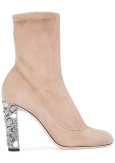 Jimmy Choo Maine boots - Nude & Neutrals