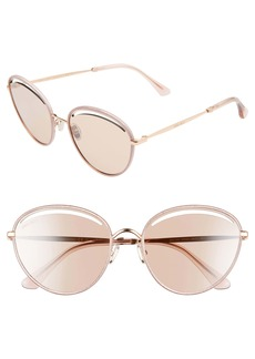 Jimmy Choo Malya 59mm Cutout Lens Sunglasses