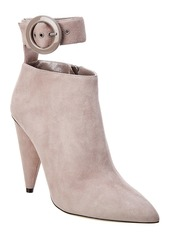 Jimmy Choo Maribel 100 Suede Bootie