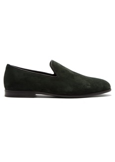 Jimmy Choo Marlo brushed suede loafers