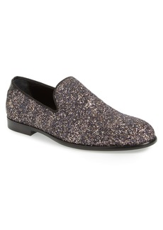 Jimmy Choo Marlo Glitter Venetian Loafer (Men)