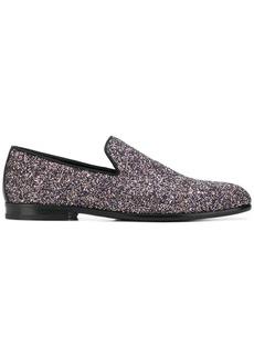 Jimmy Choo Marlo loafers - Metallic